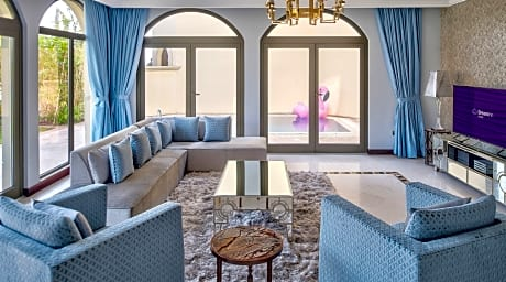 Dream Inn Dubai Luxury Palm Beach Villa