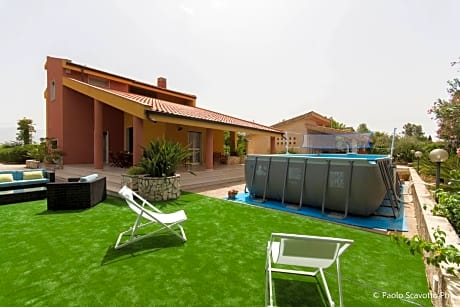 Villa With 5 Bedrooms in Partinico, With Private Pool, Enclosed Garden