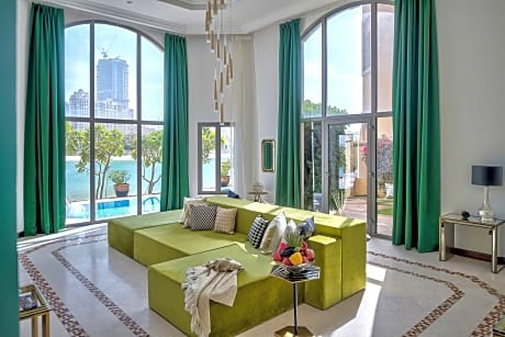 Dream Inn Dubai Royal Palm Beach Villa